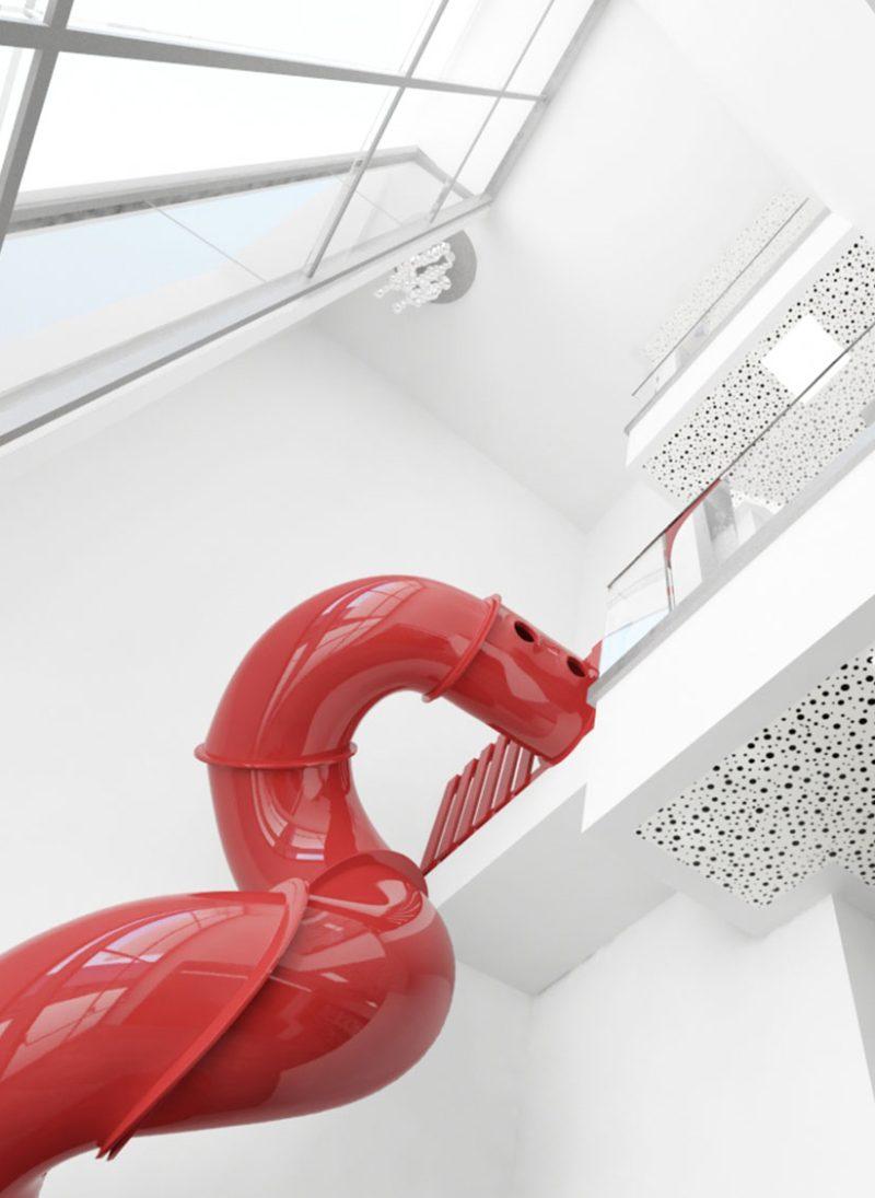 5 vantagens importantes das imagens 3D para o seu projeto. Colegio Aldancas em imagem 3D. Projeto Obra Atelier